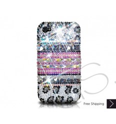 Stripe Print Crystallized Swarovski iPhone 6 Case