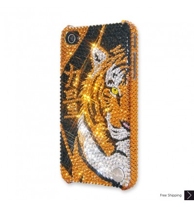 Tiger Power Crystal iPhone Case