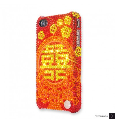 Happiness Crystal iPhone Case
