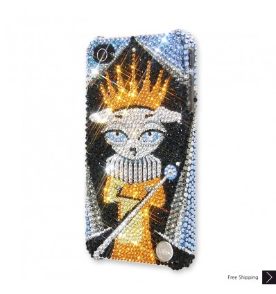 The King Crystal iPhone Case
