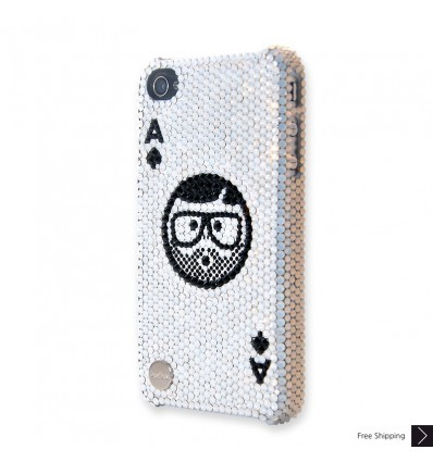Aces High Crystal iPhone Case